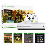 Consola Xbox One S 1tb 4k Blu-ray Control Minecraft Nueva