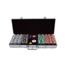 Trademark Poker Royal Suited Fichas Estuche De Aluminio