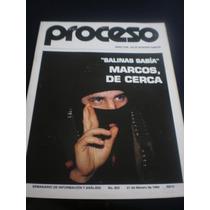 Proceso - Salinas Sabía Marcos, De Cerca