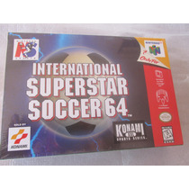 International Super Star Soccer 64 Nintendo Nuevo Y Sellado