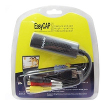 Easycap Tarjeta Capturadora Usb 2.0 Rca S-video Video