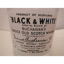 Vaso Black & White Scotch Scotland Whisky Escocia Europa Bar