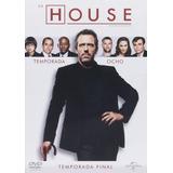 Doctor Dr House Octava Temporada 8 Ocho Dvd