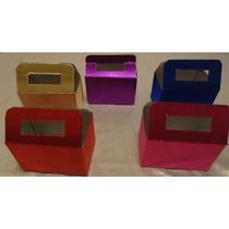 Cajas De Carton Metalico, Lonchera,dulces, $7