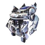 Kit Solar Flota Espacial 7 En 1 Robot Juguete Transformer