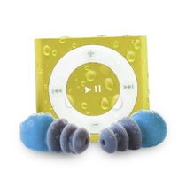 Waterfi Impermeable Apple Ipod Shuffle Con Cable Corto Auric