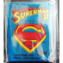 1981 Sobres Cerrados Topps Vintage Pelicula De Superman 2.