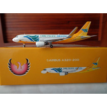 Airbus A320-200 Con Sharklets De Cebu Pacific Escala 1:400