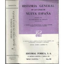 Historia General De Las Cosas De La Nueva España / Sahagún