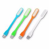 Lampara Led Flexible Entrada Usb Colores! Compu Vichis