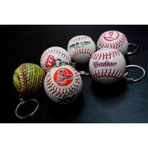 Llavero En Forma De Pelota De Béisbol Con Tu Logo Preferido