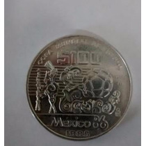 Moneda De 100 Pesos Mundial Mexico 1986
