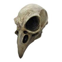 Mascara Calavera Cuervo. Skull Crow. Disfraz Halloween