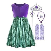 Busca Disfraz Nina Sirenita Vestido Con Sonido Ariel Disney