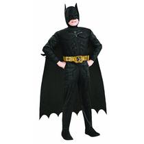 Disfraz Niño Con Musculos Batman Caballero Noche Original
