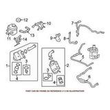 Para Bmw Genuine Turbocharger Intercooler Hose 171275897-604