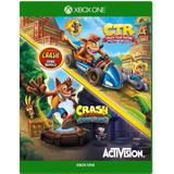 Crash Bandicoot + Crash Racing Nitro-fueled Offline Xbox One