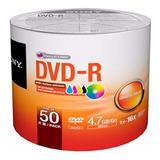 50 Dvd Imprimible Sony 16x 4.7 Gb Precio Facturado Full
