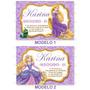 Invitaciones Kit Imprimible Rapunzel Princesas Disney Fiesta