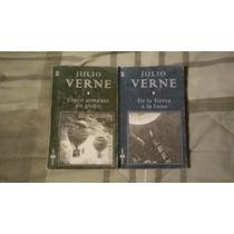 Libros De Julio Verne (5 Semanas En Globo De La Tierra A La)