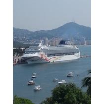3 Recámaras 3 Baños Preciosa Vista A La Bahía De Acapulco.