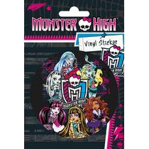 Monster High Para El Parachoques - Chicas Vinilo 10x15cm