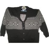 Sweater De Hombre Gris En 2 Tonos Talla 4x