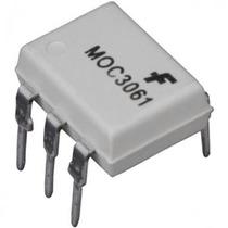 Circuito Integrado Moc3061 Optoaislador Triac Cruce Por Cero