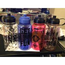 Termo Para Tomar Agua Pink De Victoria Secret-vjm