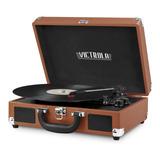 Tocadiscos Vintage Tornamesa Victrola Bluetooth Vsc550bt Caf