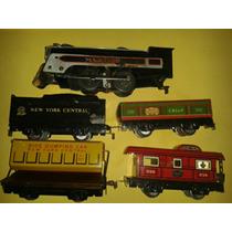 Antiguo Tren Electrico,marx Marline De 1940,escala O
