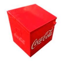 Hielera Retro Nueva 24 Botellas Coca Cola Destapador