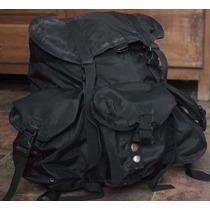 Mochila Tipo Militar Color Negro