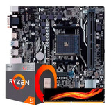 Kit Actualizacion Amd Ryzen 5 2400g 8gb Gamer Rx Vega 11