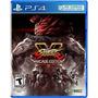 Street Fighter V Arcade Edition Playstation Ps4 Nuevo