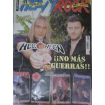 Revista Vintage Heavy Rock Helloween Pantera Peppers Metal