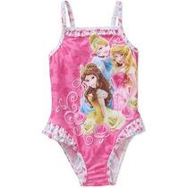 Traje De Baño Disney Princesas Talla 24 Meses Envio Gratis