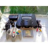 Consola Nintendo 64 Con Super Smash Bros 64