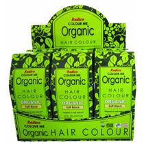 Tinte Organico P/ El Cabello Henna Y Hiervas 3 Cajas 100g Cu
