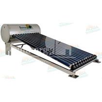 Calentador Solar 10 Tubos Inox. Sin Subir Tinaco 12 Meses Si
