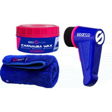 Clean Care Kit De Limpieza, Cera, Mini Pulidora Y Microfibra