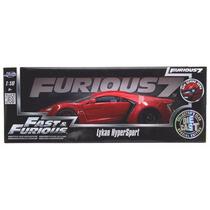 Jada Lykan Hypersport Rapido Y Furioso 7 Escala 1/18 Super