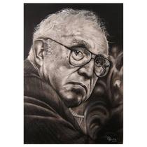 Retratos Carbón Hermosos Profesional 50cm X 40cm Regalo