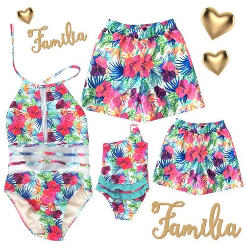 dc006c8ff093 Trajes De Baño Familia (mamá, Papá, Niña,niño) en venta en Lomas Del ...