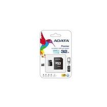 Memoria Adata Micro Sdhc Uhs-i 32gb Clase 10 C/adaptador
