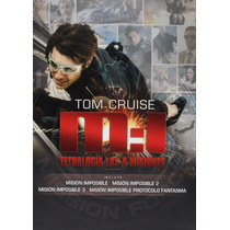 Mision Imposible 1, 2, 3, 4, Tetralogia Peliculas Dvd
