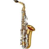 Saxofon Yamaha Yas26 Dorado Alto Para Estudiante