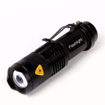 Lámpara Táctica Cree 2000 Lumens 7 Modos Recargable Zoom
