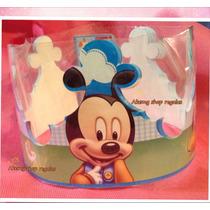 Baby Mickey Y Baby Mimi 20 Coronas Gorros Artículos Fiesta