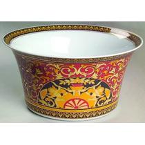 Versace Centro D Porcelana Rosenthal Oro 24 K Alemana Hm4